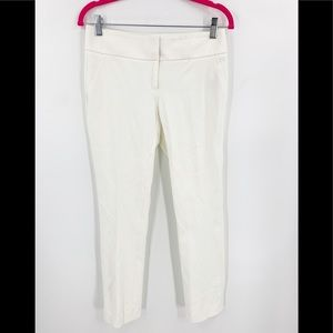 Vince Camuto White Stretch Legging Capri Career 2